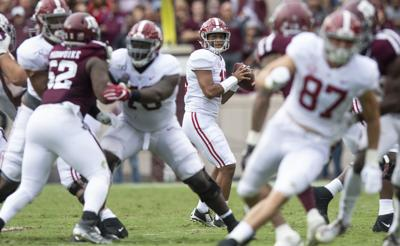 Alabama's Tua Tagovailoa boldly responds to questions about slant routes: 'Stop it.'