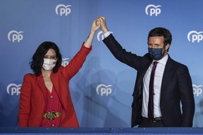 Spain Madrid Election
