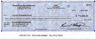 Sweepstakes scams checks