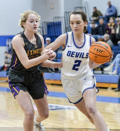 Savannah Fowler Falkville basketball