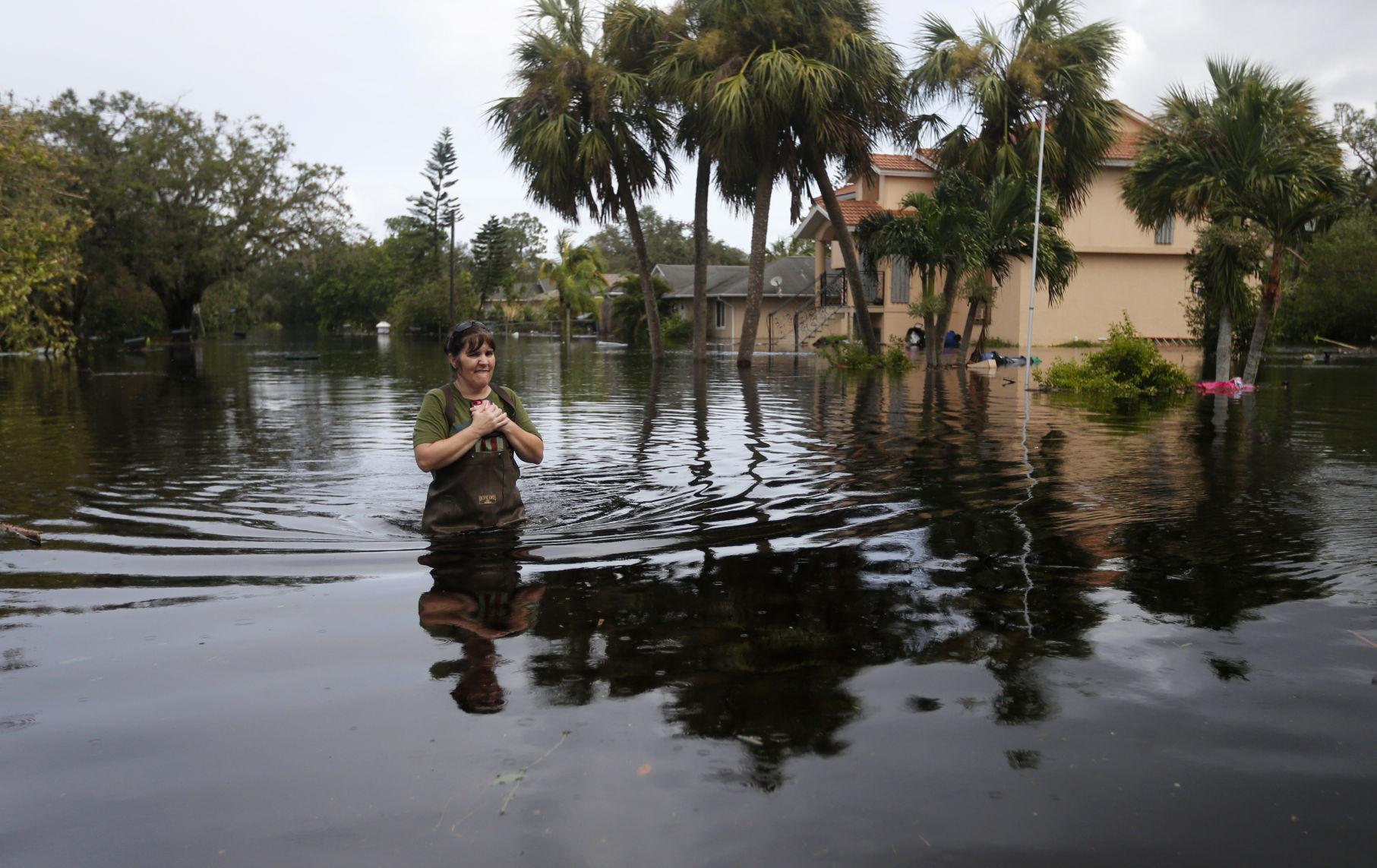 Irma weakens to Tropical Depression