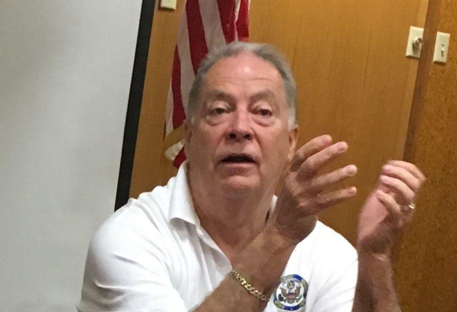 Morgan County EMA director Eddie Hicks.