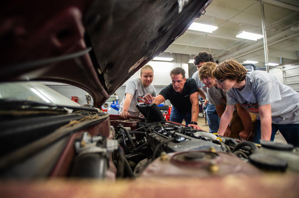 Calhoun's automotive tech center expected to be ready by ...