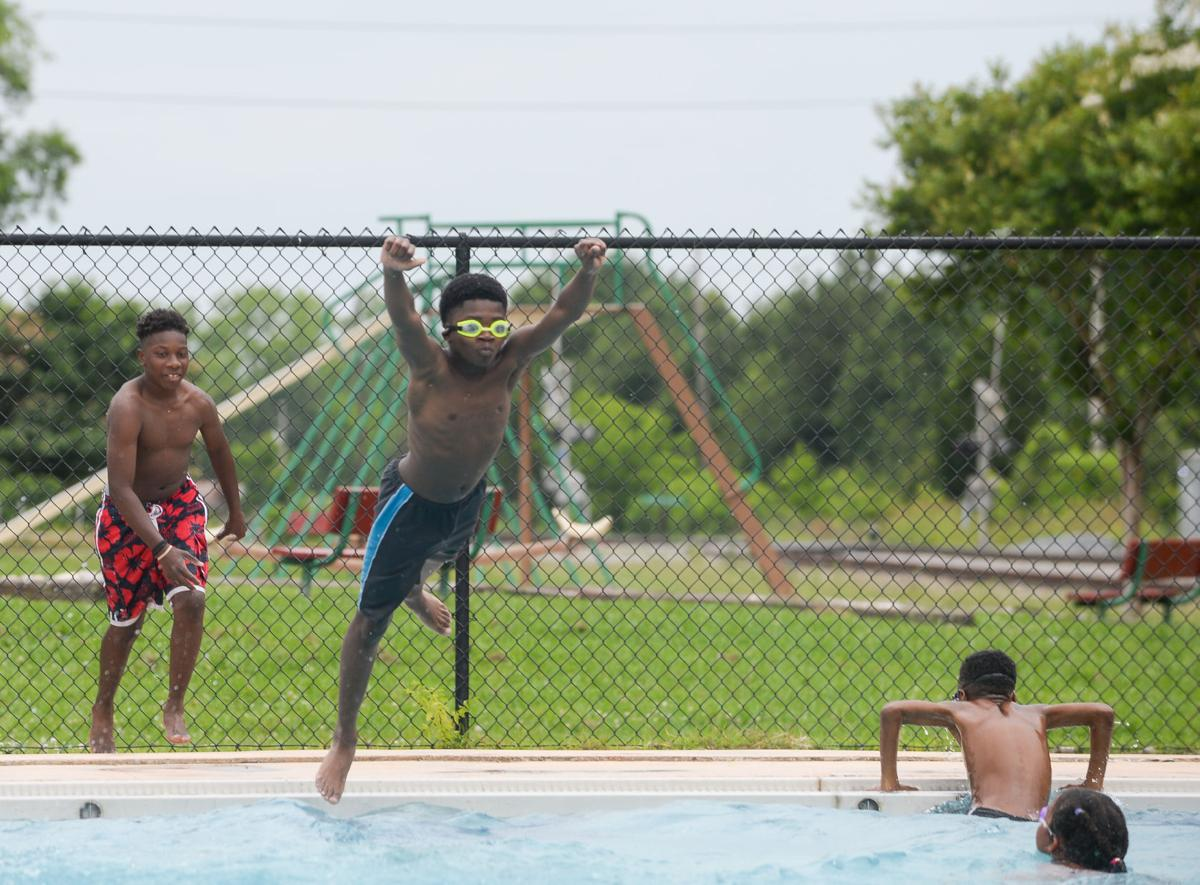 No sweat escape north alabama s summer heat with cool - Carrie matthews swimming pool decatur al ...