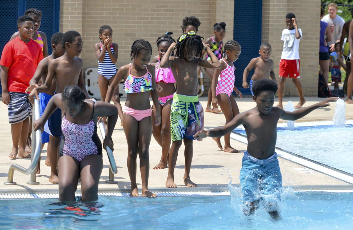 Beating the heat at the carrie matthews swimming pool - Carrie matthews swimming pool decatur al ...