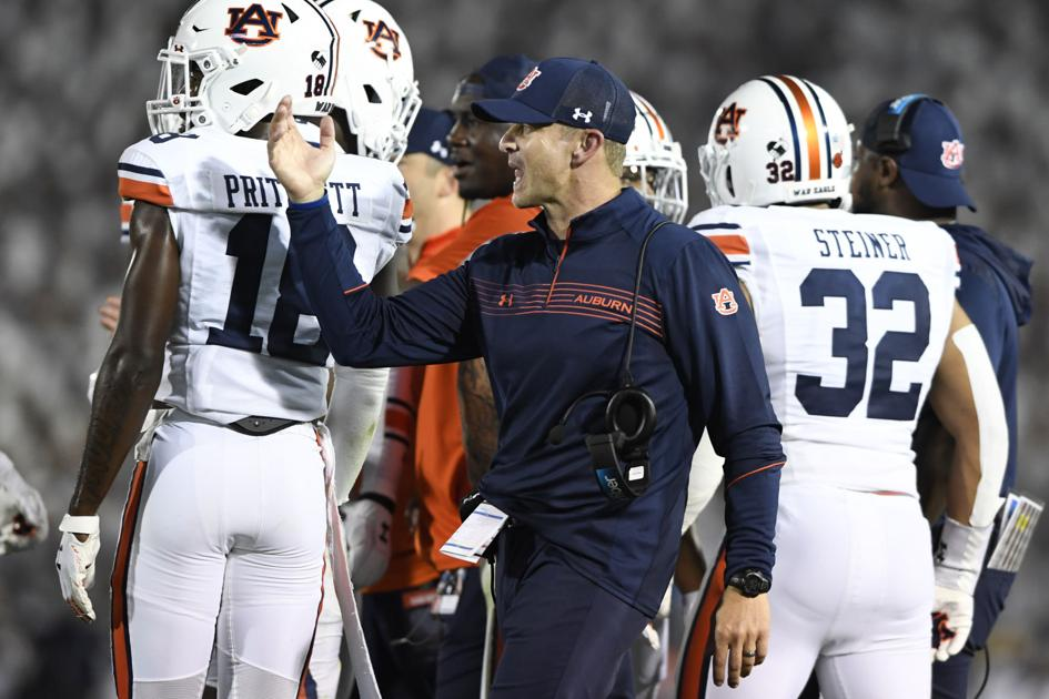 Harsin: Auburn's fourth-down play was right call