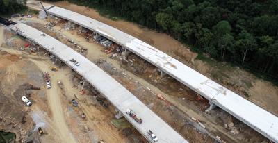 231 bridge work