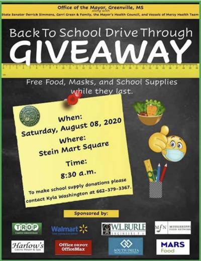 Greenville School Supplies Drive Happening Saturday