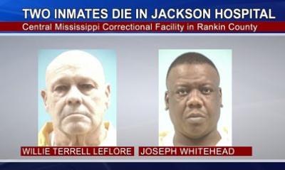 Two Inmates Die in Jackson Hospital