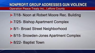 Organization Addresses Gun Violence in Leflore County