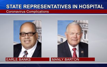 Mississippi Representatives Hospitalized due to Covid-19