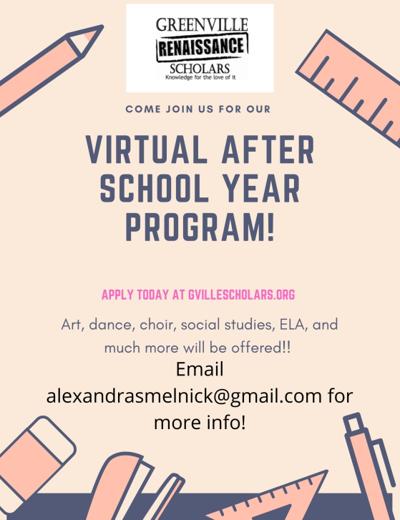 New Virtual After School Program