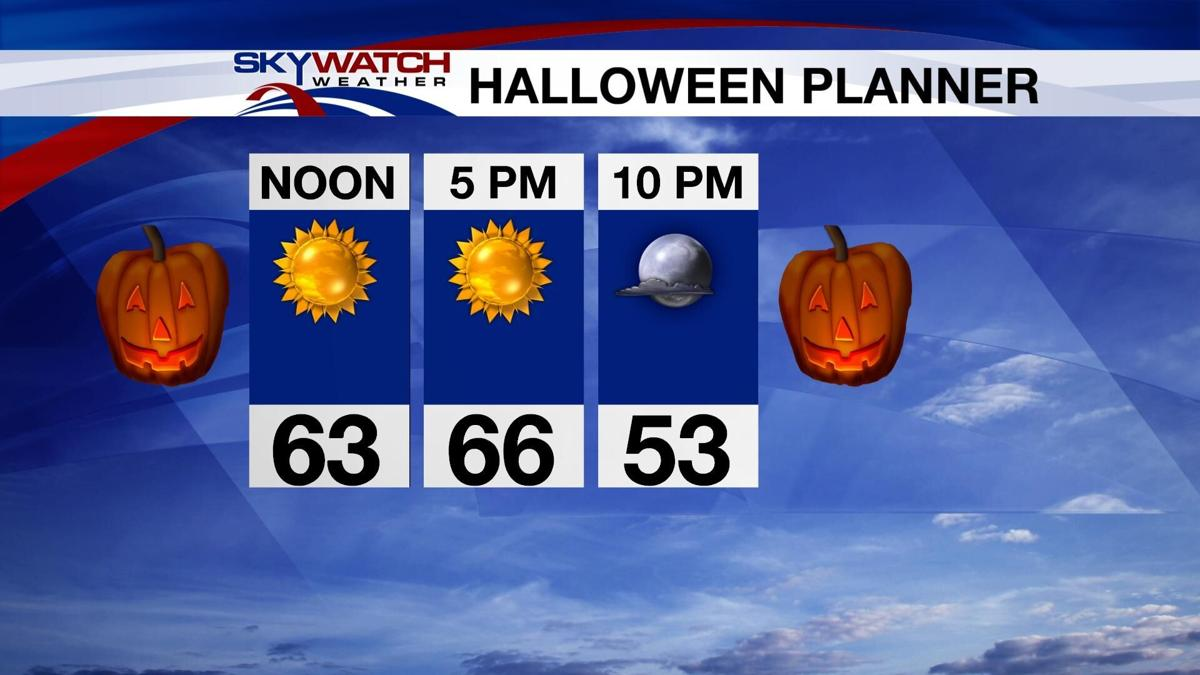 Dry And Pleasant For Halloween
