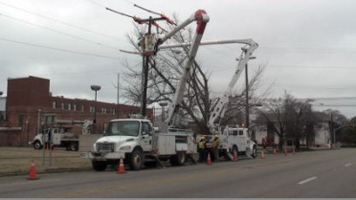 Delta Towns Still Without Power