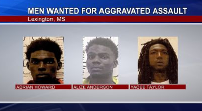 Suspects Wanted for Alleged Assault of Lexington Police Officer