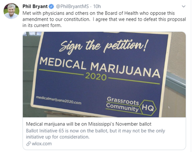 Medical Marijuana on the Voting Ballots in Mississippi