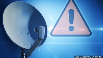 Satellite Dish Alert
