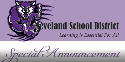 Cleveland School District Back to School Plans