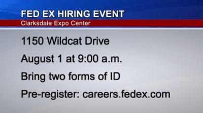 FedEx Career Fair in Clarksdale
