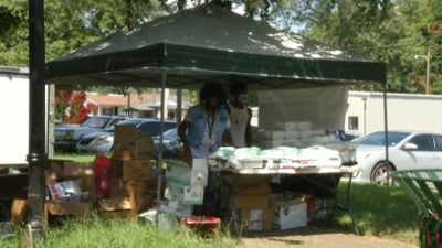 Supplies Giveway In Shaw