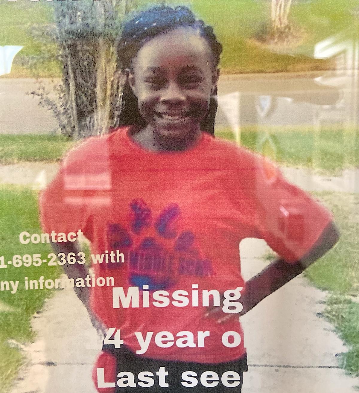 Missing/Endangered Child alert