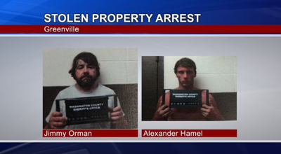 Stolen Property Arrest