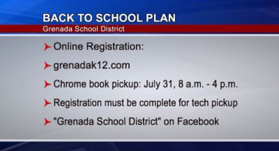 Grenada School District Reopening Plan