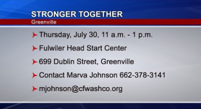 Stronger Together Community Event