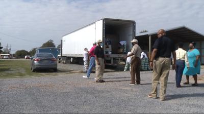 Indianola Drive Thru Food Giveaway