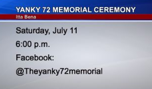 Third Annual Yanky 72 Memorial Ceremony Still Planned for July