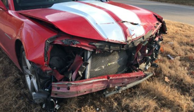 Car Collision Leaves One Man Injured in Greenville