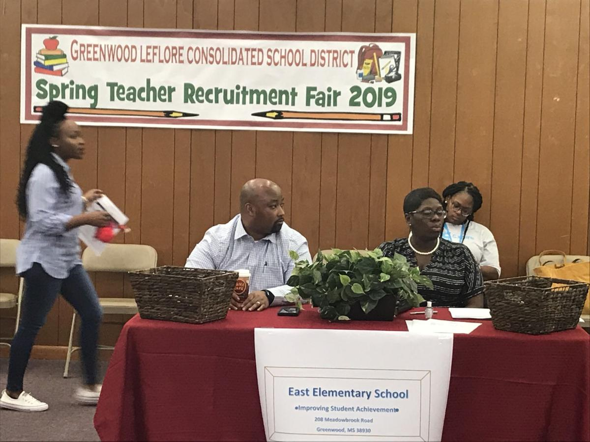 Greenwood-Leflore Consolidated District Holds First Teacher Career Fair