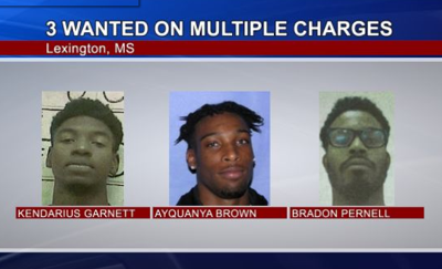 Three Men Wanted in Holmes County