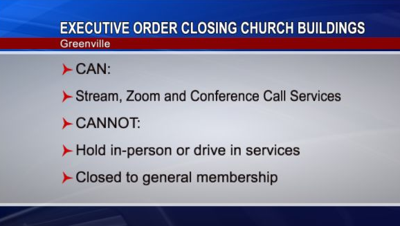 Newest Greenville Executive Order