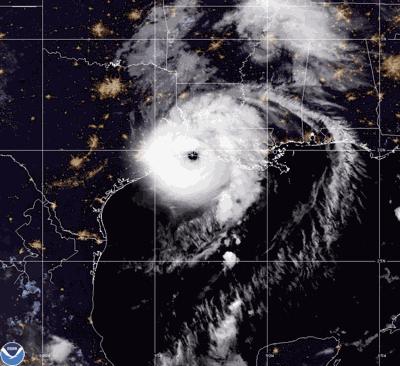 Hurricane Laura Makes Landfall