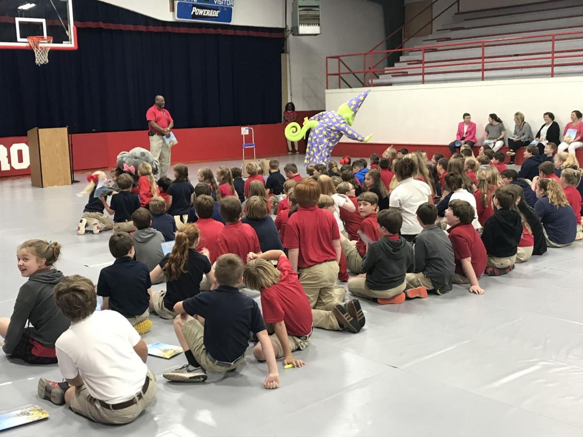 Students at Carroll Academy Gets Visit from MEMA 4 Kids