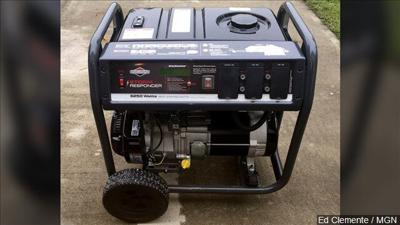 Why you should never use a generator during a storm
