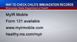 Parents Can Now Check Child's Immunization Records at Home