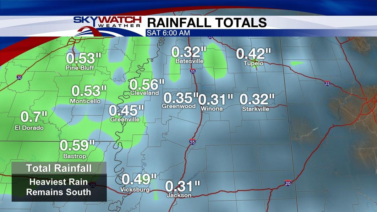 Another Round of Rain Returns Friday