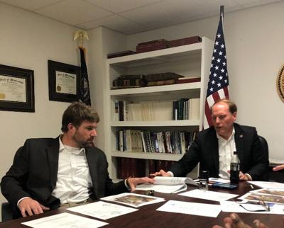 Carroll County Officials Sign Off Applications for Big Sand Creek Project