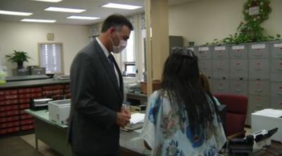 Misissippi Secretary of State Visits Washington County