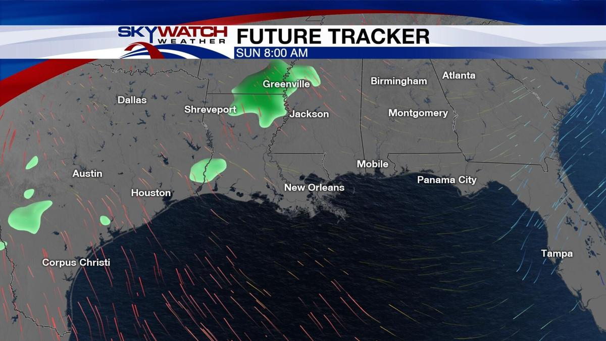 Wet Weather Returns Along With Warmer Temps & Storms