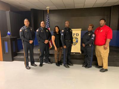 Greenville Police Department Honors Officials