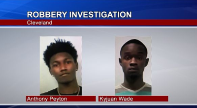 Two Cleveland Men Charged with Robbery and Assault