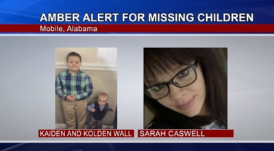 Amber Alert Issued for Two Missing Children