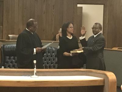 Swearing in Ceremony Held for Judge Willie J. Perkins Sr. in Leflore County