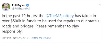 Mississippi Lottery Raises 500k in 12 Hours