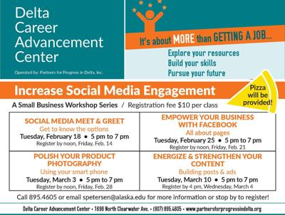 Increase Social Media Engagement Workshops Flyer