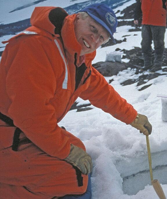 Guy Tytgat on Shishaldin Volcano