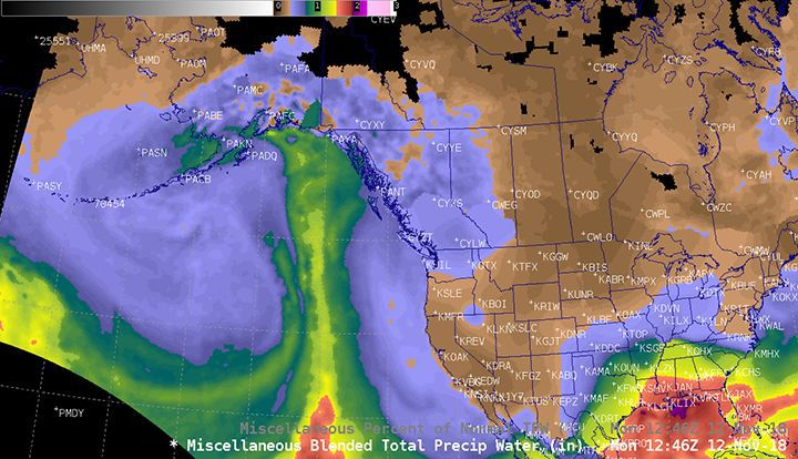 Atmospheric River Southcentral